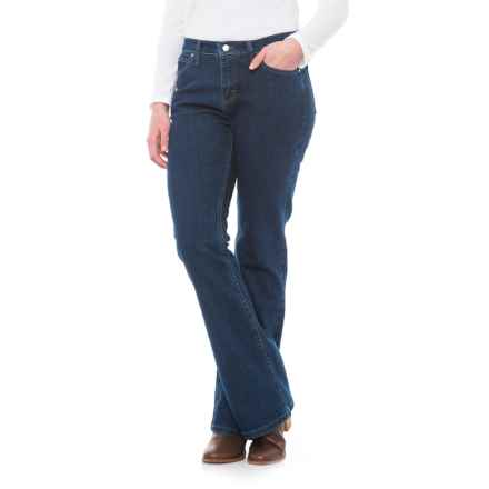 Wrangler As-Real-As-Wrngler® Classic Jeans - Classic Fit, Bootcut (For Women) in Cw Wash - 2nds