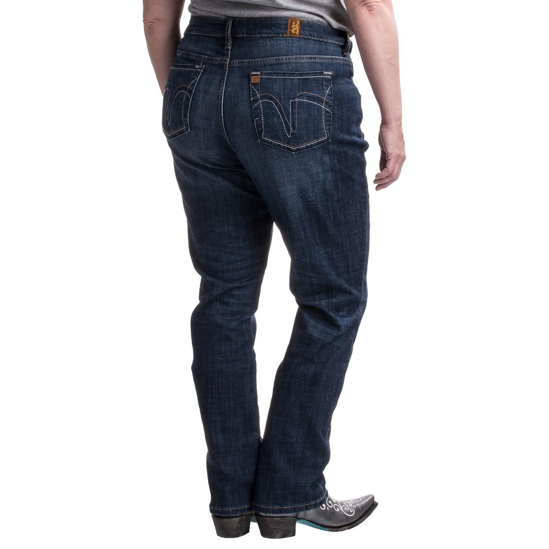 Wrangler Aura Instantly Slimming Jeans For Women Save 50