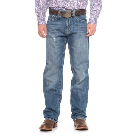 Wrangler Bootcut Jeans - 5-Pocket (For Men) in Worn Indigo