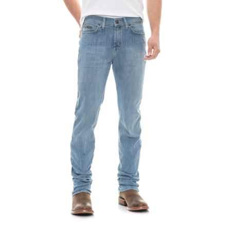 Wrangler Brockton Regular Slim Jeans (For Men) in Medium Blue - 2nds