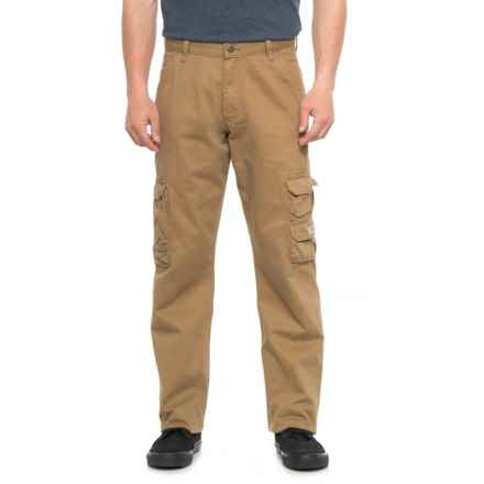 Wrangler Cargo Pants - Loose Fit (For Men) in Acorn - 2nds