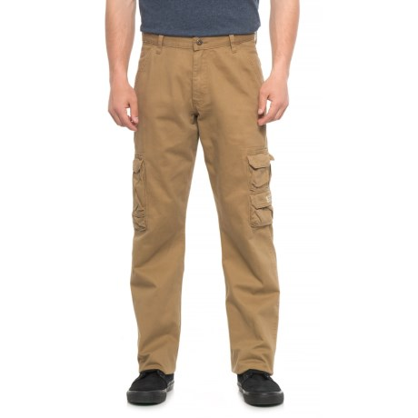 Wrangler Cargo Pants - Loose Fit (For Men) in Acorn