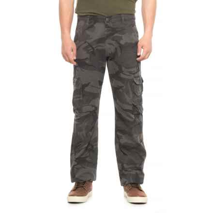 Wrangler Cargo Pants - Loose Fit (For Men) in Anthracite Camo - 2nds