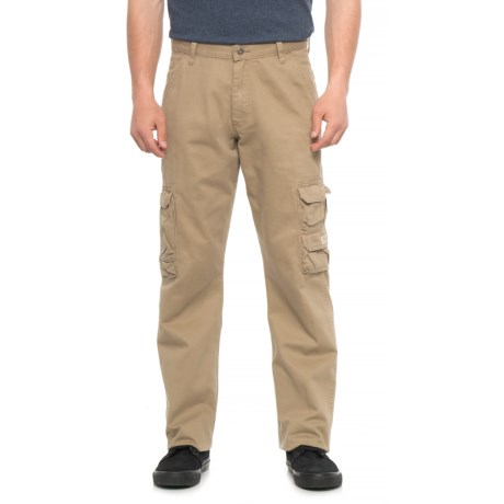 Wrangler Cargo Pants - Loose Fit (For Men) in Sand