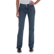 Wrangler Cash Ultimate Riding Jeans - Notched Bootcut (For Women) in Absolute Star - 2nds