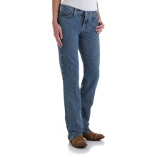 Wrangler Cash Ultimate Riding Jeans - Notched Bootcut (For Women) in Rough Rider - 2nds