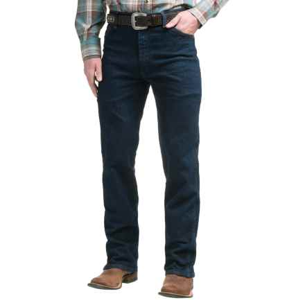 Wrangler Classic Cowboy Cut® Jeans - Bootcut (For Men) in Navy - 2nds