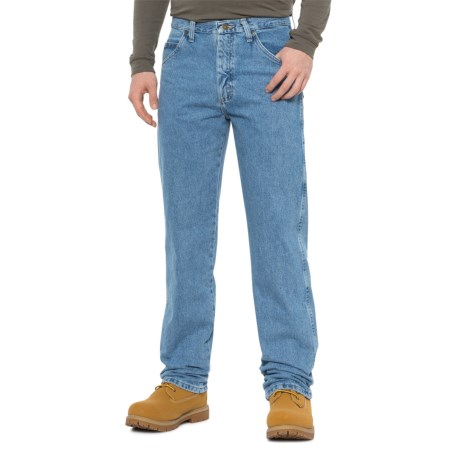71250377 Wrangler Classic Fit Jeans (For Men) in Rough Wash