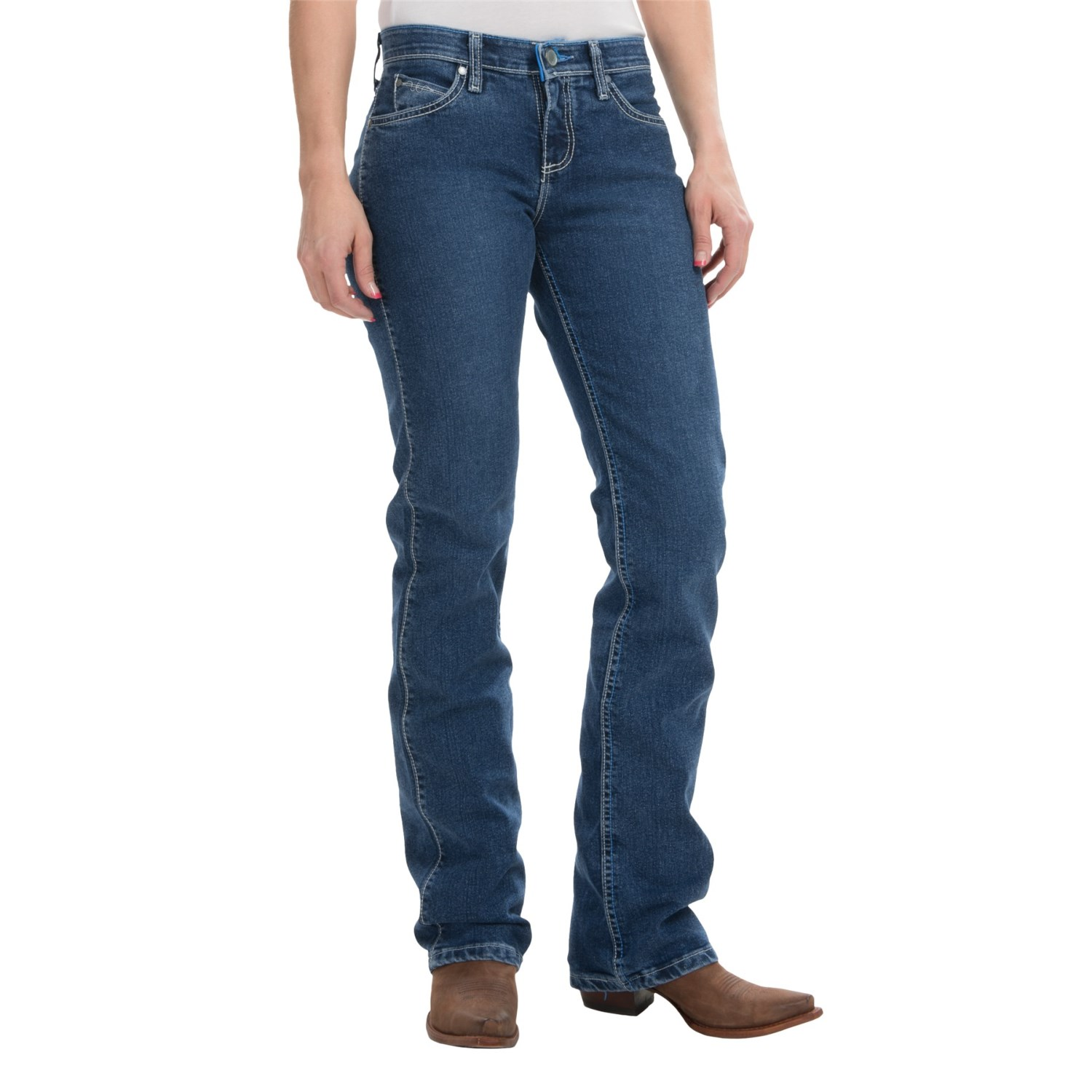 Wrangler Cool Vantage Q-Baby Jeans (For Women) - Save 50%