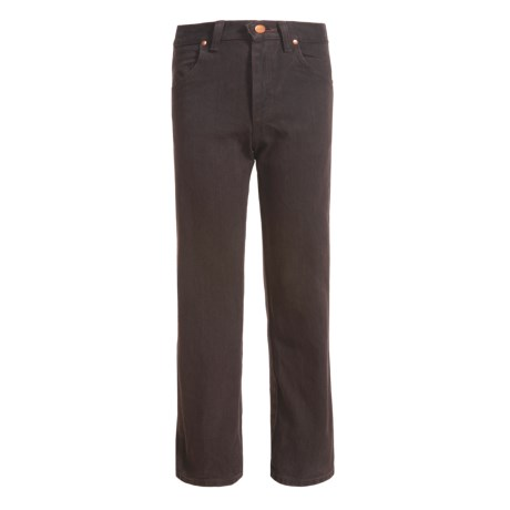 Wrangler Cowboy Cut® Jeans (For Big Boys) in Black Chocolate