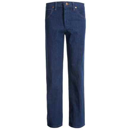 Wrangler Cowboy Cut® Jeans (For Big Boys) in Indigo - 2nds