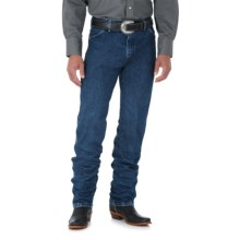 Wrangler Cowboy Cut Jeans - Original Fit (For Big and Tall Men) in Stone Wash - 2nds