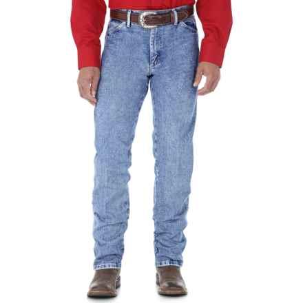 Wrangler Cowboy Cut Jeans - Original Fit (For Men) in Antique Wash - 2nds