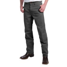 Wrangler Cowboy Cut Jeans - Original Fit (For Men) in Charcoal Grey - 2nds