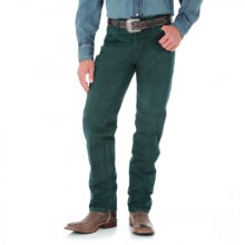 Wrangler Cowboy Cut Jeans - Original Fit (For Men) in Dark Green Mesquite - 2nds