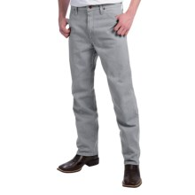 Wrangler Cowboy Cut Jeans - Original Fit (For Men) in Grey - 2nds