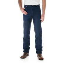 Wrangler Cowboy Cut Jeans - Original Fit (For Men) in Pre Wash Denim - Closeouts