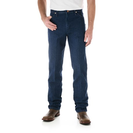 Wrangler Cowboy Cut Jeans - Original Fit (For Men) in Pre Washed