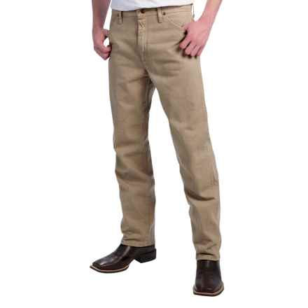 Wrangler Cowboy Cut Jeans - Original Fit (For Men) in Tan - 2nds