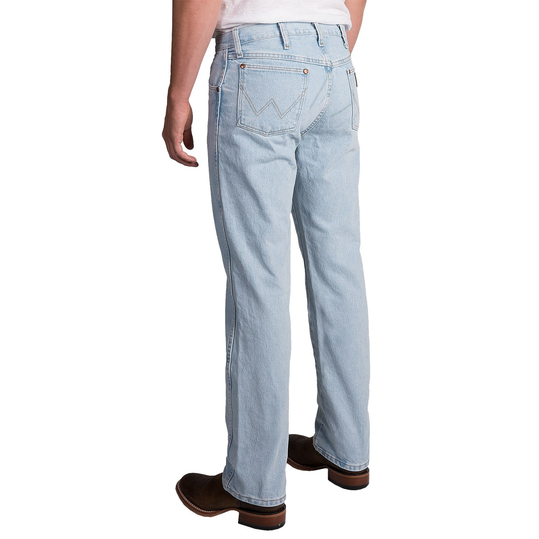 Wrangler Cowboy Cut Jeans For Men Save 42