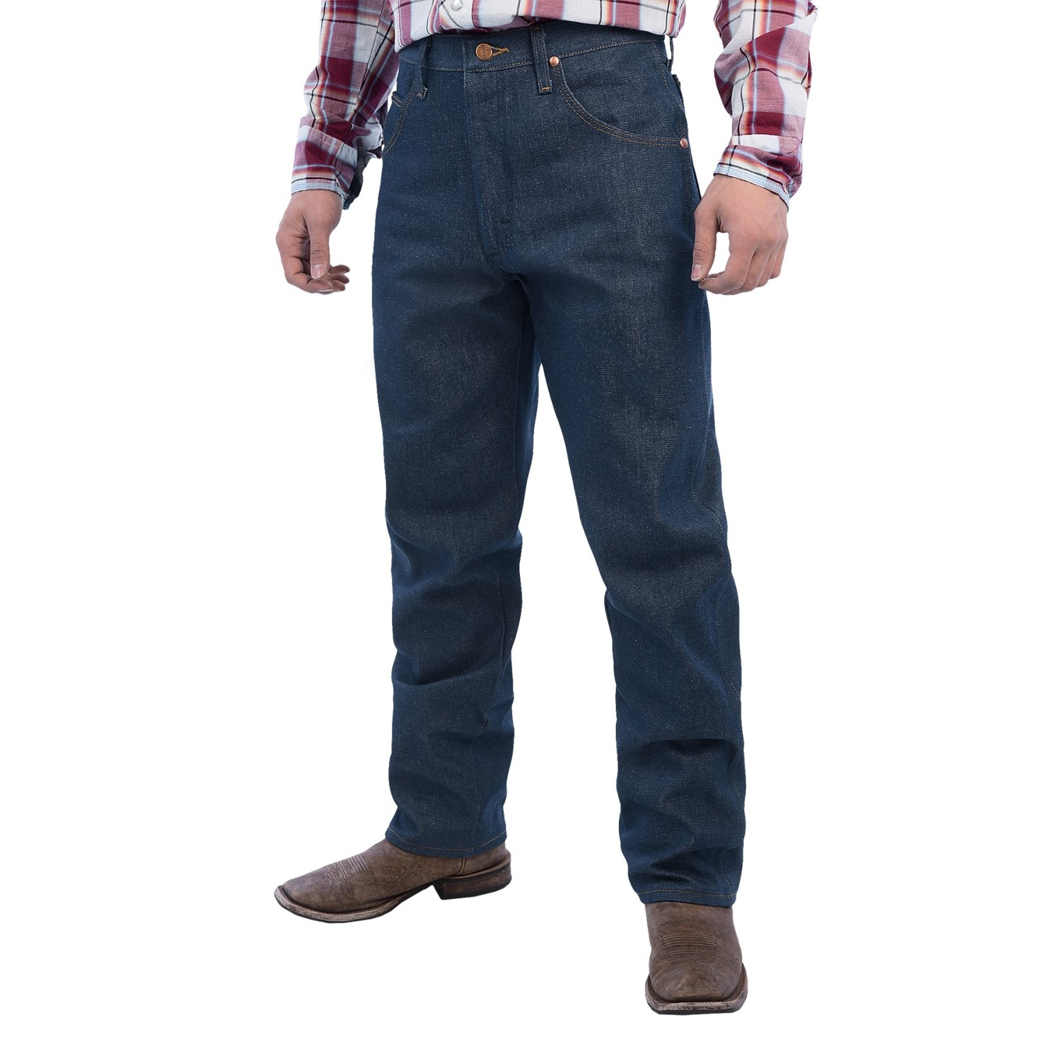 Wrangler Cowboy Cut Relaxed Fit Jeans For Men Save 42