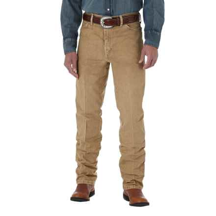 Wrangler Cowboy Cut® Silver Edition Jeans - Slim Fit (For Men) in Tan - 2nds