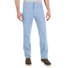 Wrangler Cowboy Cut Slim Fit Jeans (For Men) in Bleach - 2nds