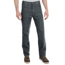 Wrangler Cowboy Cut Slim Fit Jeans (For Men) in Charcoal Grey - 2nds