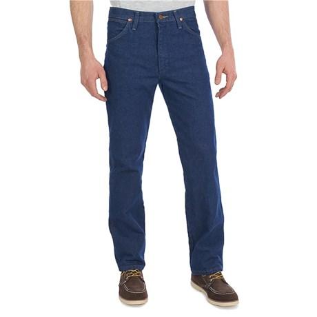 d8034610e Wrangler Cowboy Cut Slim Fit Jeans (For Men) in Pre Wash Denim