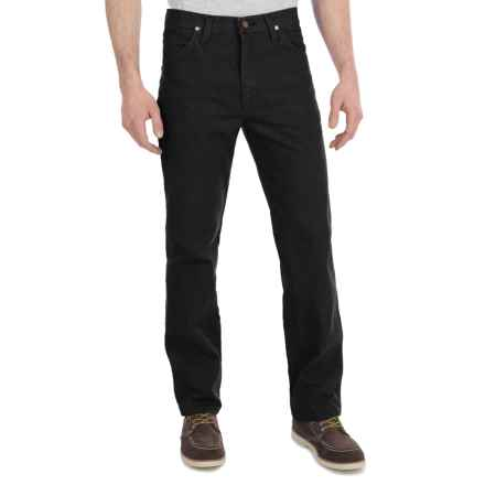 Wrangler Cowboy Cut Slim Fit Jeans (For Men) in Shadow Black - 2nds