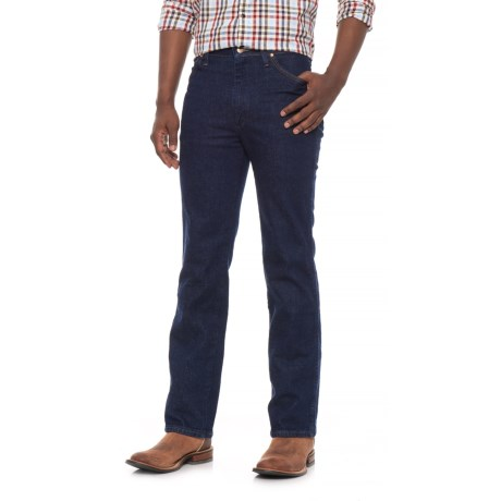 Wrangler Cowboy Cut Stretch Jeans - Slim Fit (For Men) in Navy