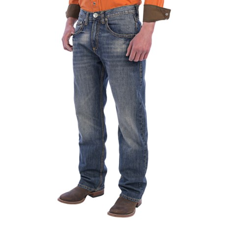 Wrangler Extreme Relaxed Jeans (For Men) in Dark Knight
