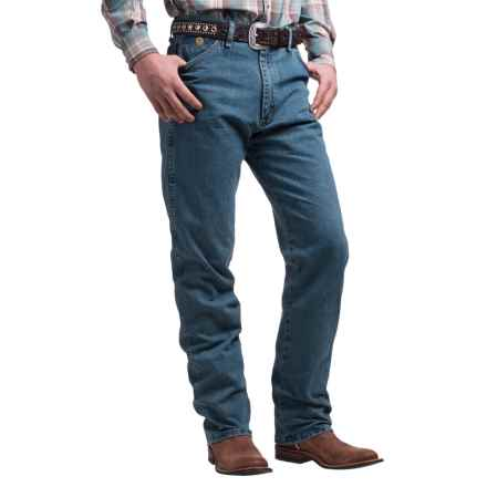 Wrangler George Strait Cowboy Cut® Jeans - Original Fit (For Men) in Greyed Denim - 2nds