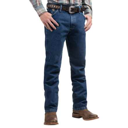 Wrangler George Strait Cowboy Cut® Jeans - Original Fit (For Men) in Heavyweight Stone Denim - 2nds