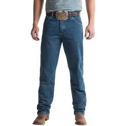 5fef10fed69 Wrangler George Strait Cowboy Cut® Jeans - Relaxed Fit (For Men) in Heavy