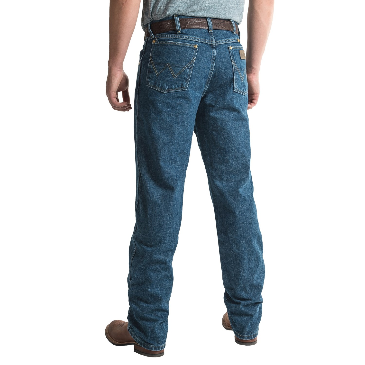 afc33b48a ... 205XT_2 Wrangler George Strait Cowboy Cut® Jeans - Relaxed Fit (For ...