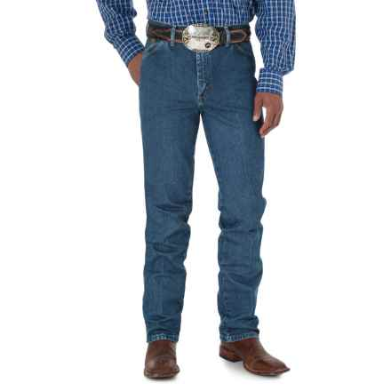 Wrangler George Strait Cowboy Cut® Jeans - Slim Fit (For Men) in Heavy Stone Denim - 2nds