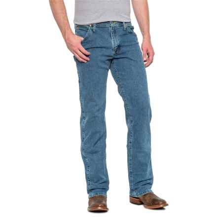 7a5c73b3 Wrangler George Strait Cowboy Cut® Regular Fit Jeans (For Men) in Stone  Bleach