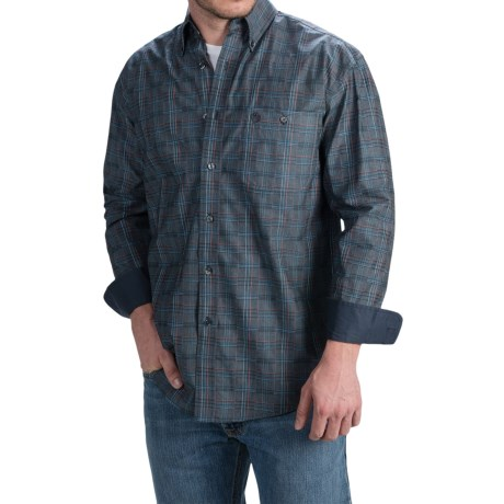 Wrangler George Strait Western Shirt Long Sleeve (For Men and Big Men)