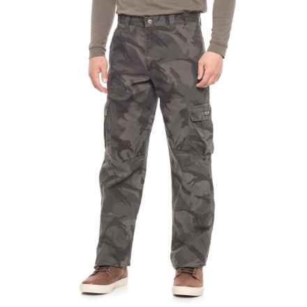 Wrangler Legacy Cargo Twill Pants (For Men) in Anthracite Camo - Closeouts