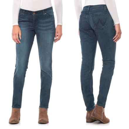 Wrangler Low-Rise Skinny Jeans (For Women) in Hk Wash - 2nds