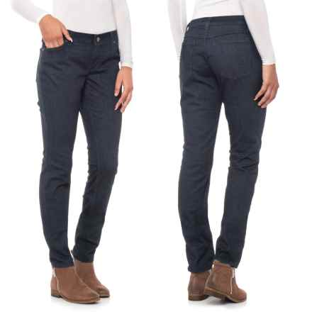 Wrangler Low-Rise Skinny Jeans (For Women) in Washed Navy - 2nds