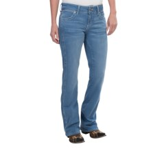 Wrangler Mae Premium Patch Jean - Low Rise (For Women) in Ky Wash - 2nds
