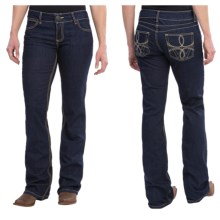 Wrangler Mae Premium Patch Jean - Low Rise (For Women) in Rs Wash - 2nds