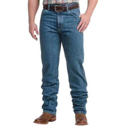 Wrangler PBR® Relaxed Fit Jeans - Bootcut, High Rise (For Men) in Authentic Stone - 2nds