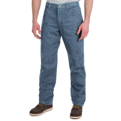 Wrangler Premium Performance Jeans - Cowboy Cut, Regular Fit (For Men) in Midtint
