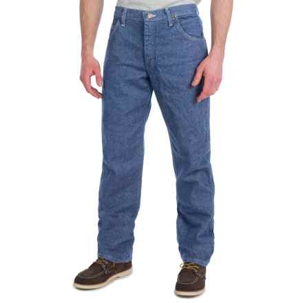 Wrangler Premium Performance Jeans - Cowboy Cut, Regular Fit (For Men) in Stone Wash - 2nds