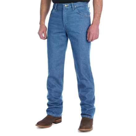 Wrangler Premium Performance Jeans - Cowboy Cut, Slim Fit (For Men) in Stonewashed - 2nds