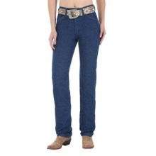 Wrangler Prewashed Classic Cowboy Cut Jeans - Slim Fit, Tapered Leg (For Women) in Prewashed - 2nds