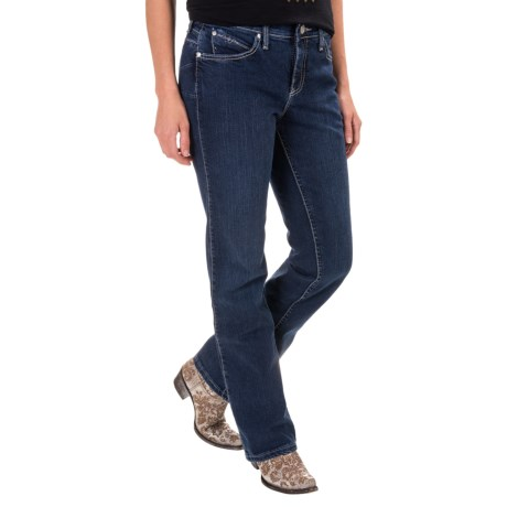 Wrangler Q-Baby Booty Up Jeans - Mid Rise, Bootcut (For Women)